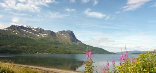 Vy från Nordland Norge